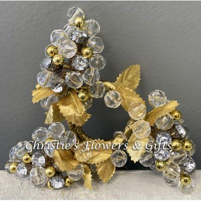 Golden Napkin Rings