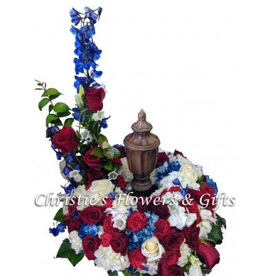 United Remembrance - Urn Wreath