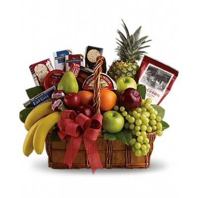 Fruit & Gourmet Baskets