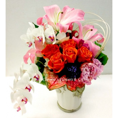 Christies flowers gifts naples florida flower shop serving cascading hearts mightylinksfo