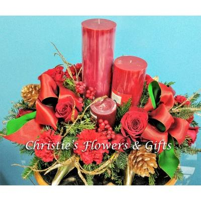 Christmas Glow Centerpiece