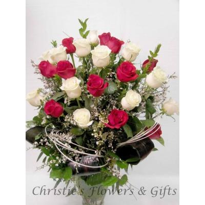 Love Divine -  2 Dozen Roses